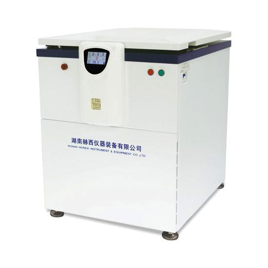 落地式低速大容量冷冻离心机LR6M